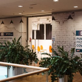 Polish shopping centres join the vaccination drive