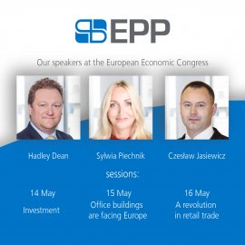 EPP with top speakers at the ECC